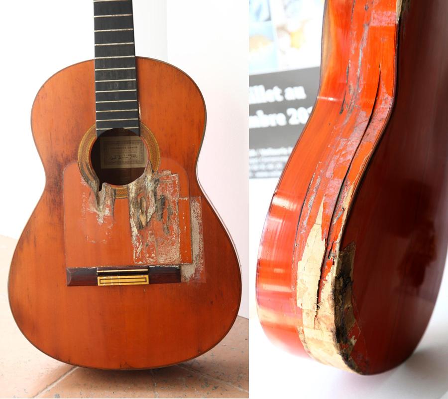 Restauration D 39 Une Guitare Cond